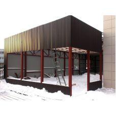 Металлокаркасное строительство