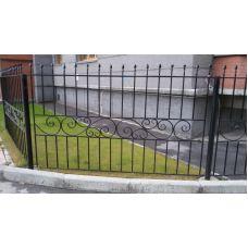 Забор металлический (эконом)