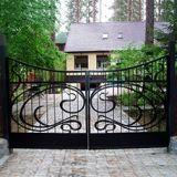 Металлические ворота и заборы. Изготовление и монтаж.