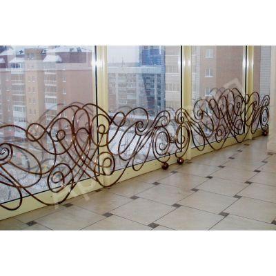 Балконные ограждения с художественной ковкой