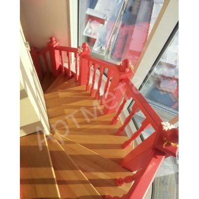 Основание для лестницы на одном косоуре