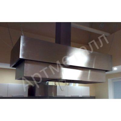 Профессиональная вытяжка на кухню из нержавеющей стали