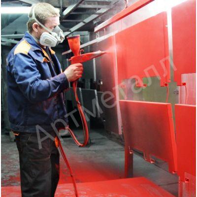 Полимерное покрытие металлических изделий в Новосибирске