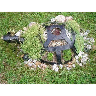 Металлическая фигура-Черепаха