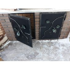 Двери на уличный мангал