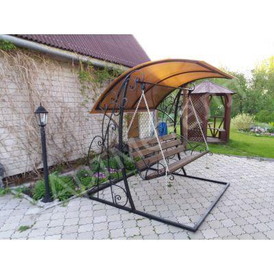 Качель садовая от производителя в Новосибирске.