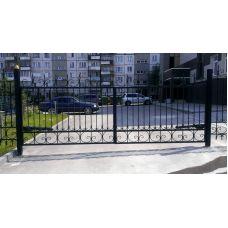 Забор придомовой территории