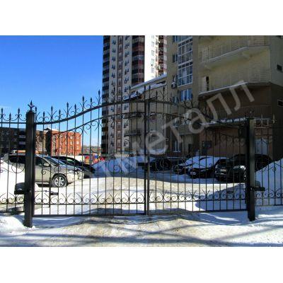 Забор придомовой территории 2