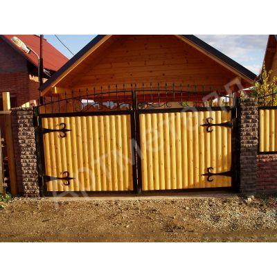 Забор под ключ со вставками