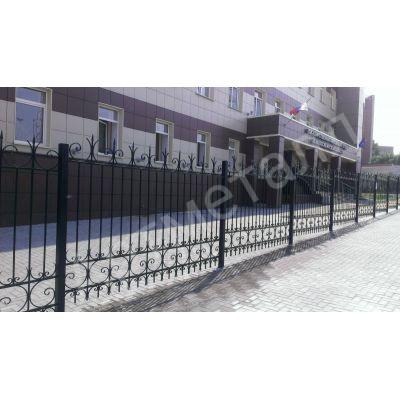 Забор металлический придомовой