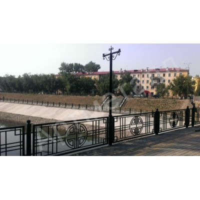 Мостовое ограждение